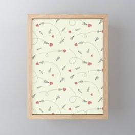 Sending Love Framed Mini Art Print