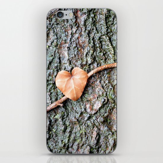 Heart and tree iPhone & iPod Skin