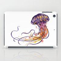 jellyfish iPad Cases featuring Jellyfish by Sam Nagel