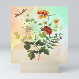 Simply Divine, Vintage Botanical Illustration Mini Art Print
