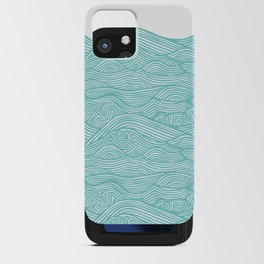 Waves iPhone Card Case