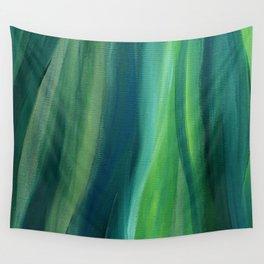 Green Magic Wall Tapestry