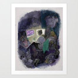 the universe Art Print