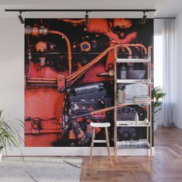 Dirt and Oil Synergy Wall Mural