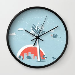 No way ! Wall Clock