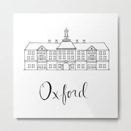 Oxford Metal Print