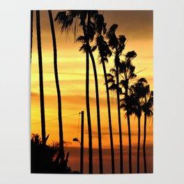 CALIFORNIA SUNSET Poster