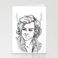 kendrawcandraw Stationery Cards featuring Satyr by kendrawcandraw