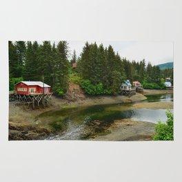 Seldovia Slough - Alaska Rug