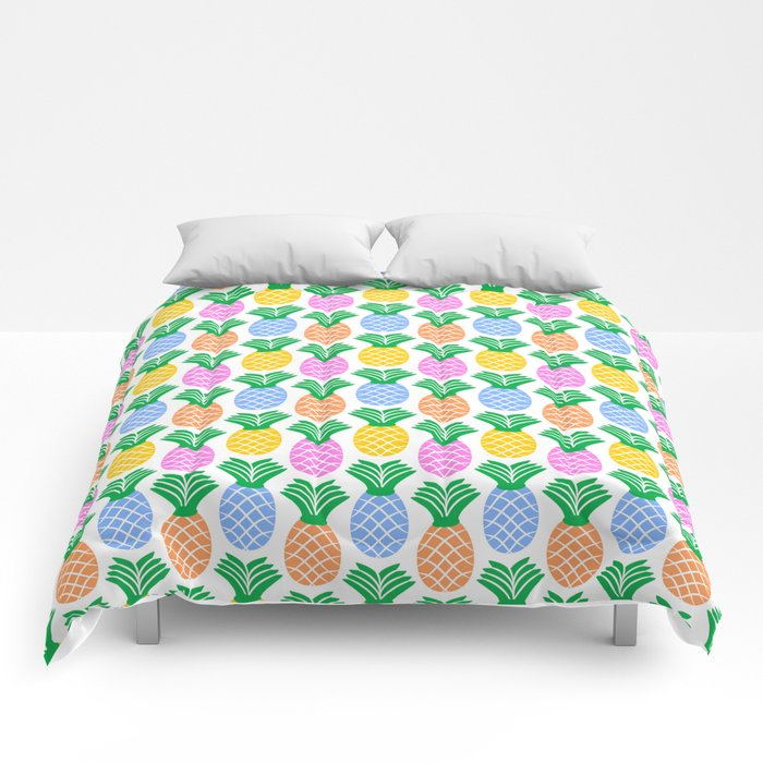 Pineapple Pattern Comforters