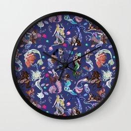 Mermaids Wall Clock