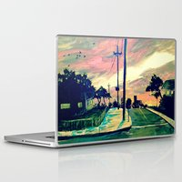 urban Laptop & iPad Skins featuring Urban // Slowtown by Samantha Crepeau