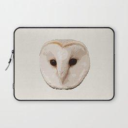 barn owl Head Laptop Sleeve