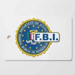 FBI Seal Mockup Cutting Board