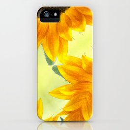 SUNFLOWER - PLAY iPhone Case