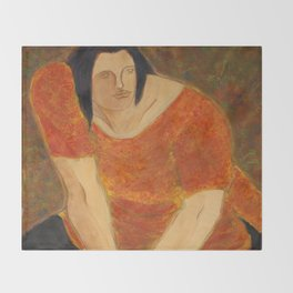 woman Throw Blanket