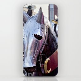 Armoured Horse And Knight iPhone Skin