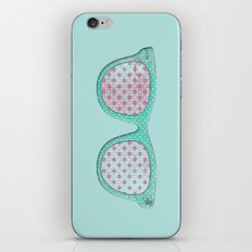 Retro Sunnies iPhone Skin