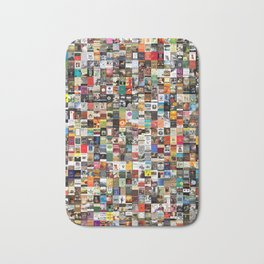 Greatest Books of All Time Bath Mat