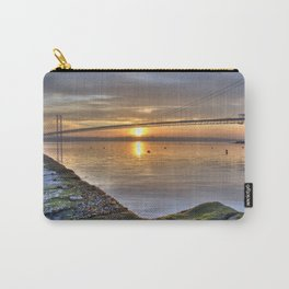 The Forth Road Bridge Sun Set Carry-All Pouch