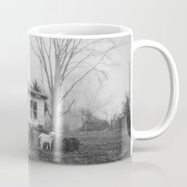 Foggy Morning on the Farm Coffee Mug