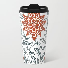 Red chrysanthemum Travel Mug