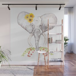 welcoming elephant Wall Mural