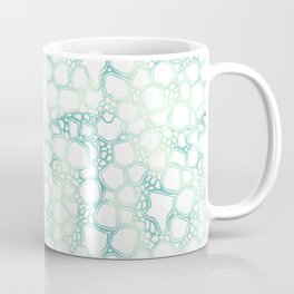Aqua Cells Coffee Mug
