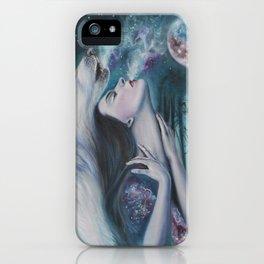 Moon Howl iPhone Case