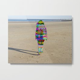 Beach Phaser Metal Print
