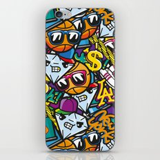 From NY to LA iPhone & iPod Skin