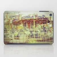 carousel iPad Cases featuring Carousel  by Amber Hakim