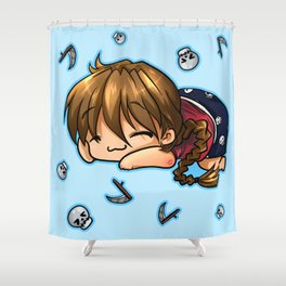 Sleepytime Duo  Shower Curtain