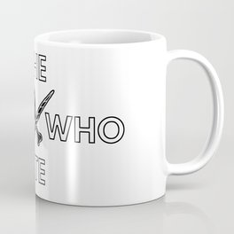The Boy Who Ate - Wand and Chicken Crest Coffee Mug