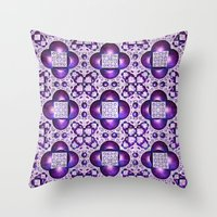 boho Throw Pillows featuring Boho by Lyle Hatch