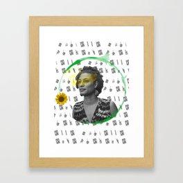 Marielle, Presente Framed Art Print