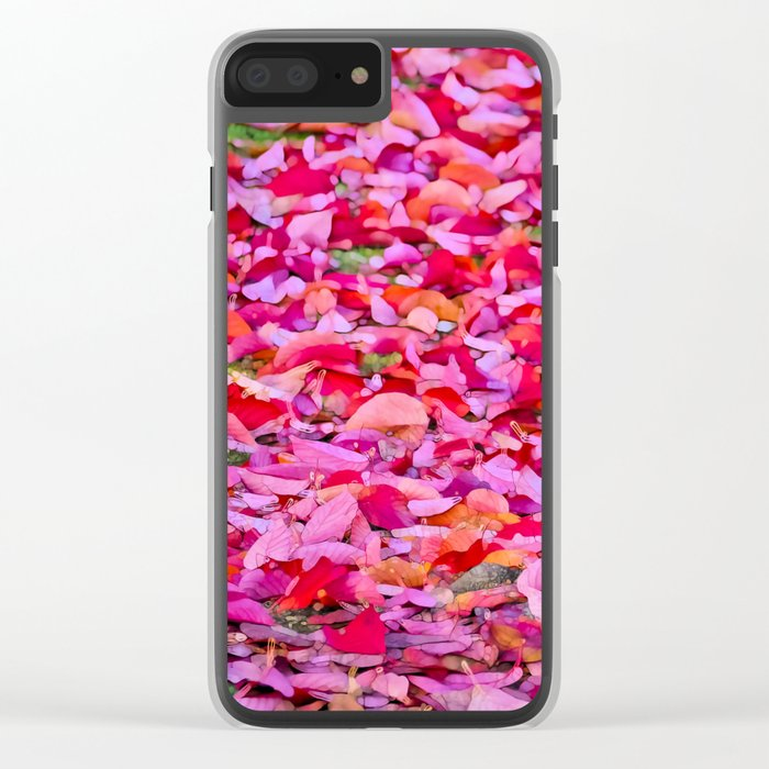 It´s Fall, Stand Tall! Clear iPhone Case