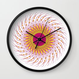 For when you enfold me in your complexities Wall Clock