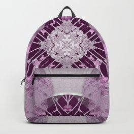 Microchip Mandala in Pink Backpack
