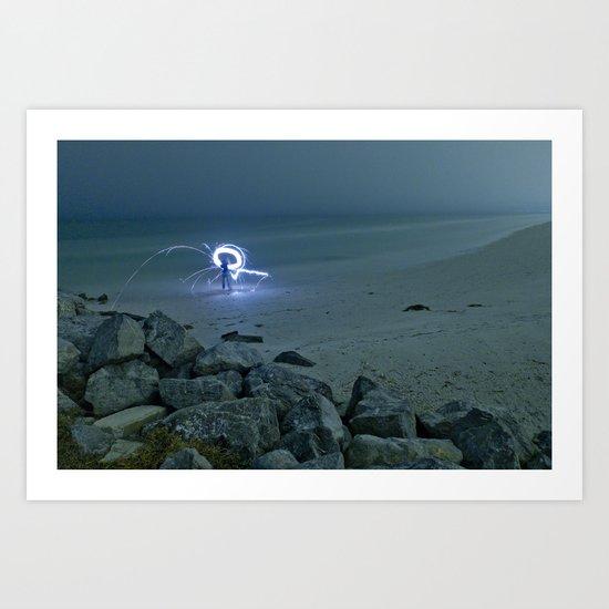 Starcatcher Art Print