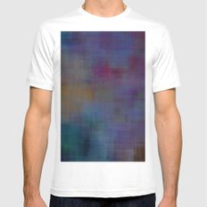 Blend#5 MEDIUM White Mens Fitted Tee