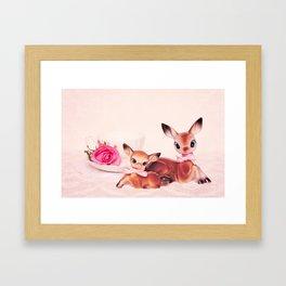 Mother & Daughter Framed Art Print
