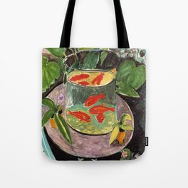 The Goldfish by Henri Matisse Tote Bag