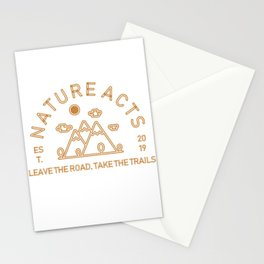 Nature Acts Stationery Cards