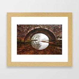 Two Bridges Framed Art Print