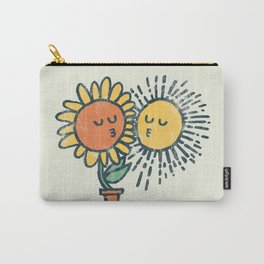 Sun Kissed sunflower Carry-All Pouch