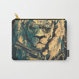Lion is always Cool Carry-All Pouch