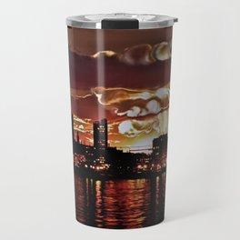 Angry Sunset. Travel Mug