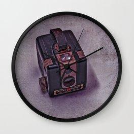 Old Brownie Camera Wall Clock