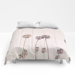 Sunny Cali Palm Trees Comforters